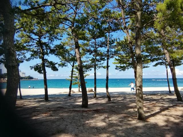 9月8日 白砂青松の白良浜-r.jpg